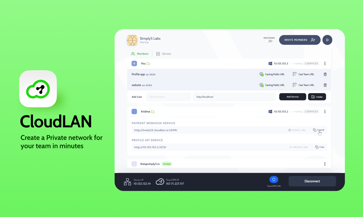 Like Zoom for Devices, Securely connect your remote users to your servers, databases, applications, and services in Minutes... Enable remote access to